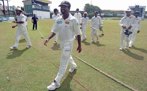 Muttiah Muralitharan turns 40 today.