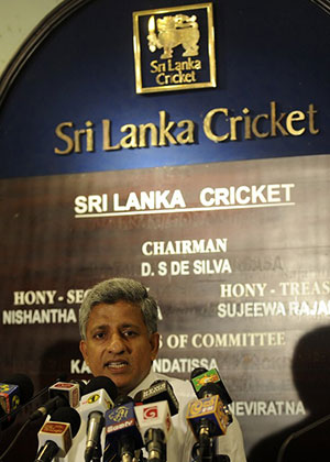 Nishantha Ranatunga says Sri Lanka Cricket is committed to preventing corruption.