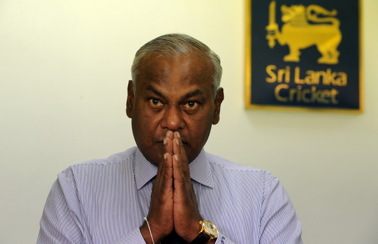 "Upali Dharmadasa employed a sorcerer to exorcise ""demons and other evil spirits"" at SLC after he was elected. © AFP"