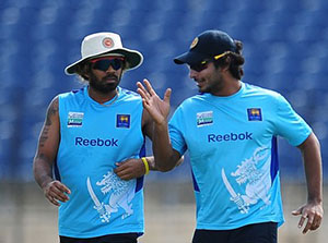 Lasith Malinga and Kumar Sangakkara picked for the ICC ODI Team of the Year.