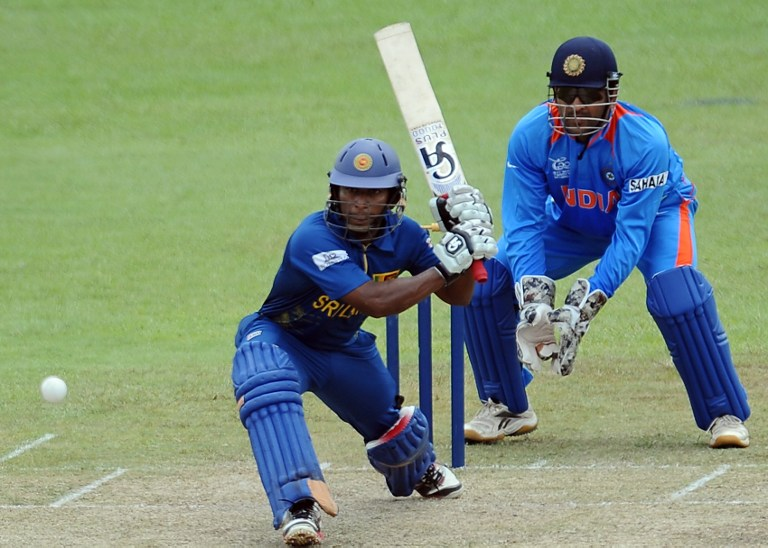 Sri Lanka's batsmen were unable to see their side through in the chase. © AFP