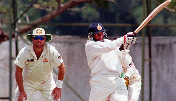 Aravinda de Silva was a ferocious striker of the ball.