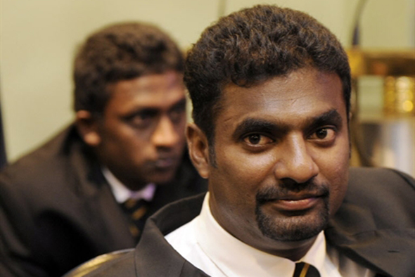Photo: Muttiah Muralitharan
