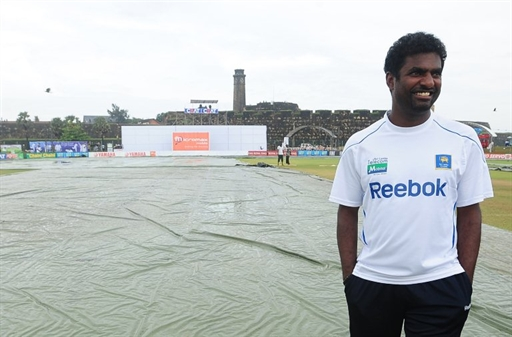 It's perhaps the first time in Muttiah Muralitharan's career that he is playing in a second XI team.