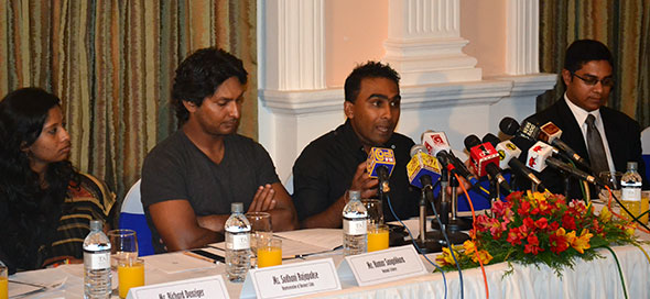 Mahela Jayawardene and Kumar Sangakkara.