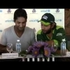 Sanga and Afridi during a UNICEF Programme