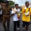 Mahela Jayawardene at a charity walk