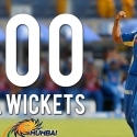 Lasith Malinga - First bowler to take 100 IPL wickets