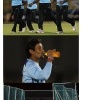 (Photos) Sri Lanka players practicing before 2nd ODI in Hambantota