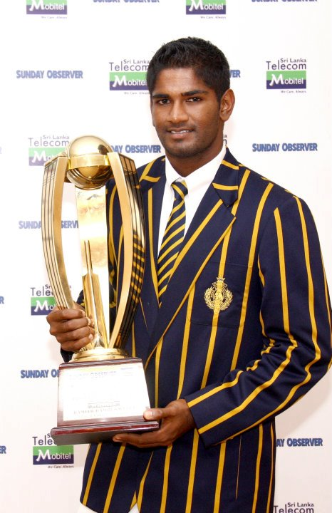 Most popular schoolboy cricketer of the year 2011