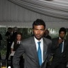 Upul Tharanga at the Australian PM's residence