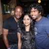 Lasith Malinga and wife meet Brian Lara
