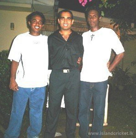 A very young Angelo Mathews