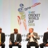 Sanath Jayasuriya at the ICC World Cup 2015 launch