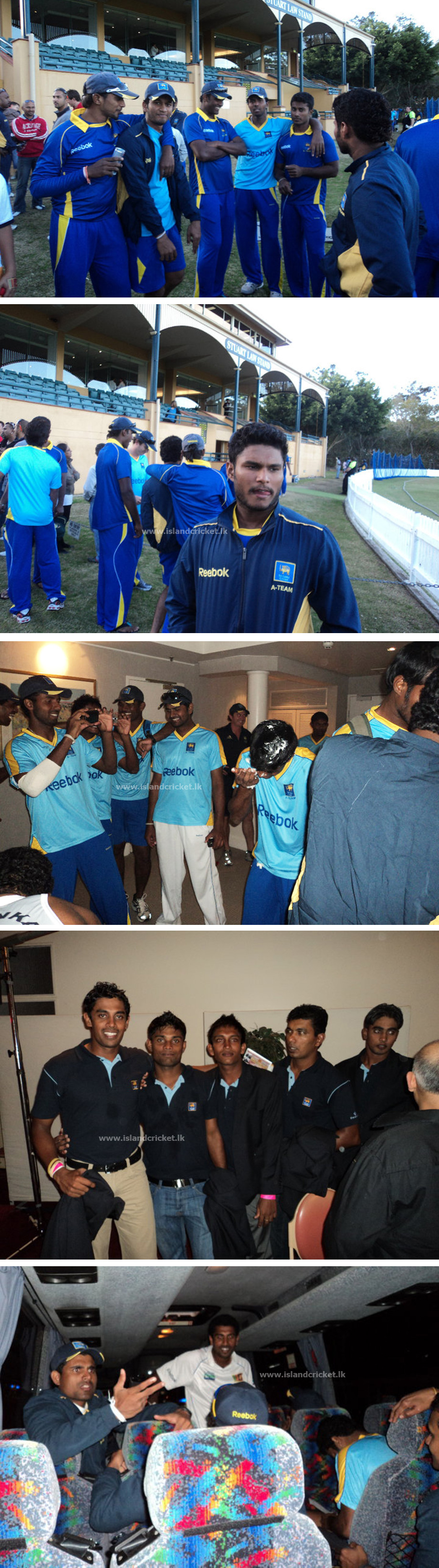 More photos from Sri Lanka's A team tour to Australia 2010