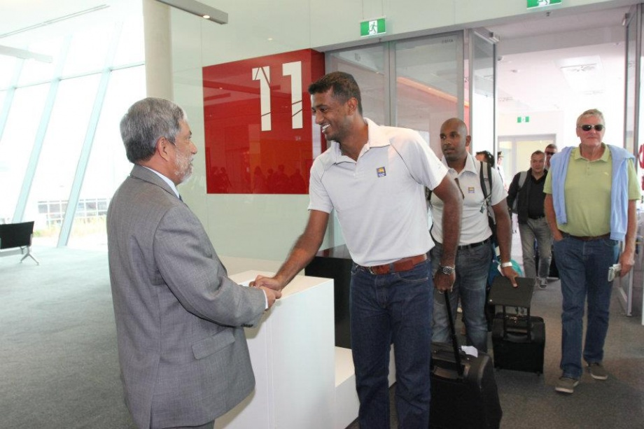 Maharoof arrives in Canberra, Australia