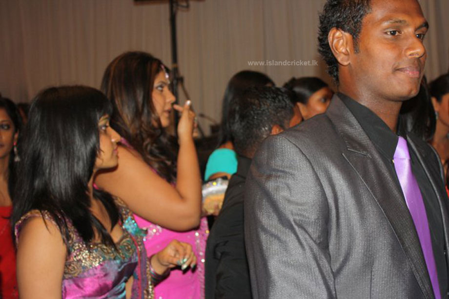 Angelo Mathews at Ajantha Mendis' wedding (2)