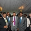 Mathews and Villavarayan at Australian PM Gillard's residence