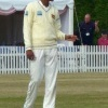Suranga Lakmal during the tour match against Middlesex, 2011