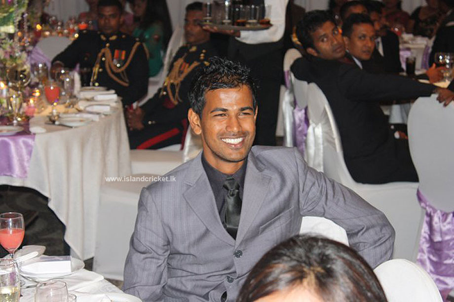 Nuwan Kulasekara at Ajantha Mendis' wedding