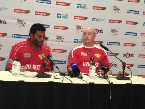 Chatting to Uva Next, one of the Sri Lankan teams competing in the CLT20