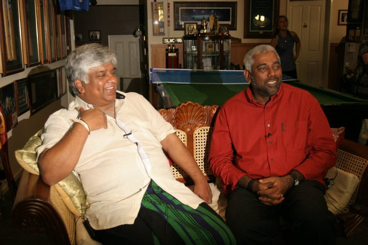 Arjuna Ranatunga in Melbourne