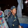Sachithra Senanayake in the team bus