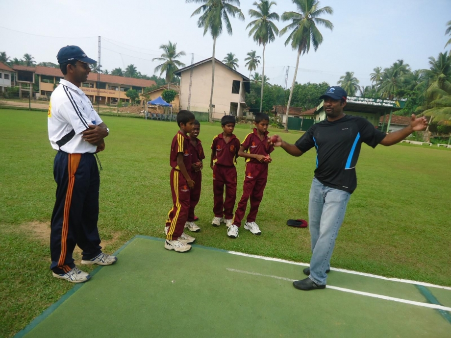 Murali shares his knowledge
