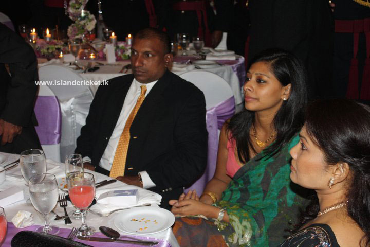 Aravinda de Silva at Ajantha Mendis' wedding