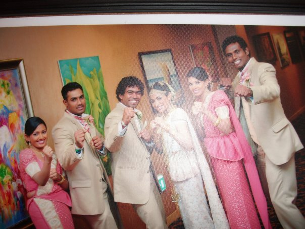 Lasith Malinga's wedding