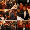 Dinner with the Sri Lankan cricket team in Australia