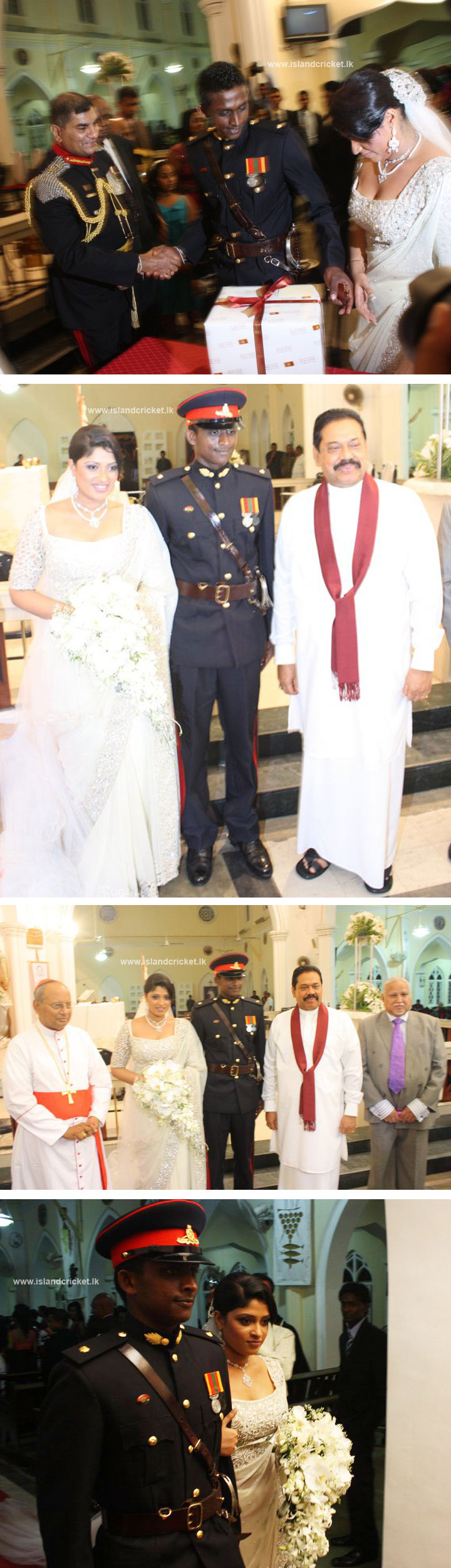 Ajantha Mendis Wedding Photos (set 2)