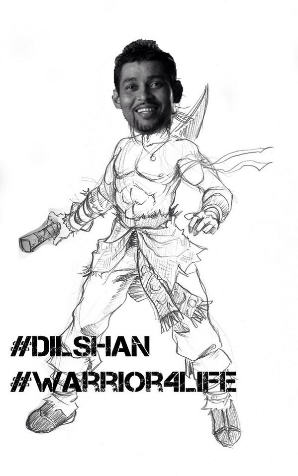 Dilshan - Warrior for Life