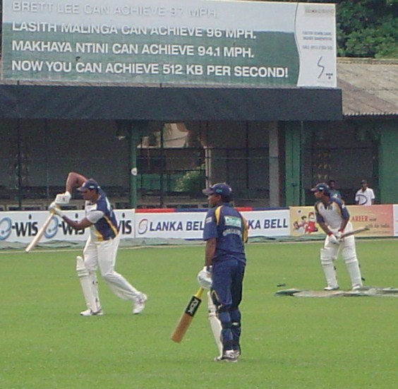 Vandort, Mahela and Dilshan strike a few after play