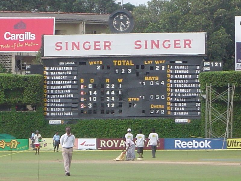 Great Memory: The winning scorecard from 2-1 Test series win against India, August 2008