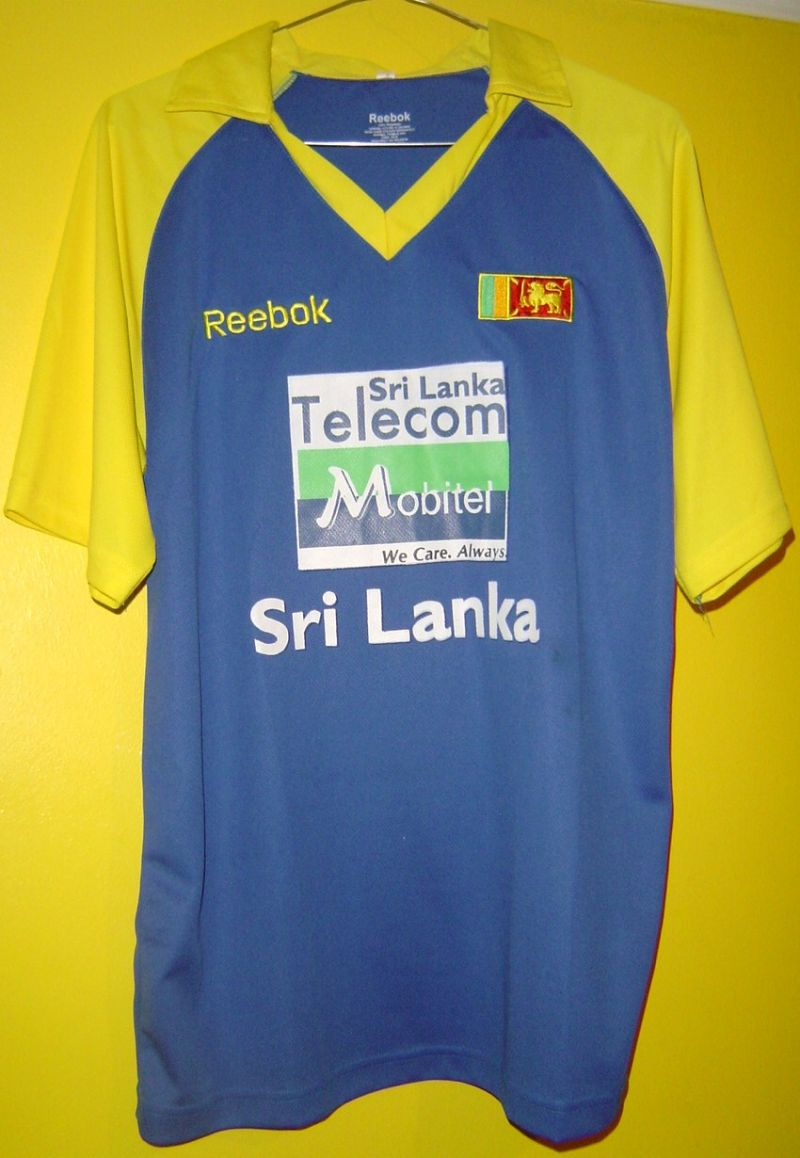 Replica Sri Lanka One Day International Cricket Shirt