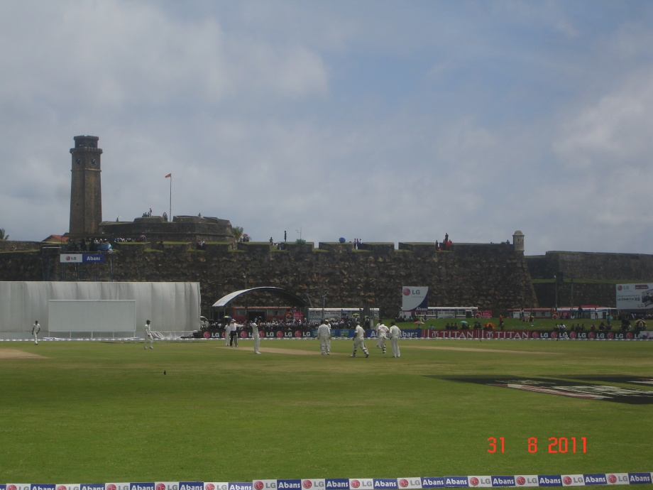 The picturesque Galle International Cricket Stadium (Pic -1)