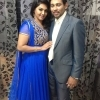 Dilshan with his wife