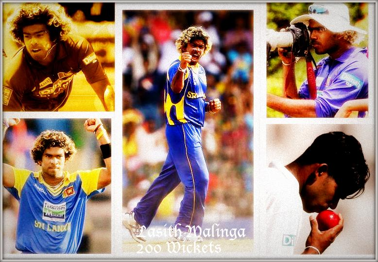 200 ODI Wickets for Lasith Malinga