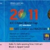 ICC Cricket World Cup Ticket