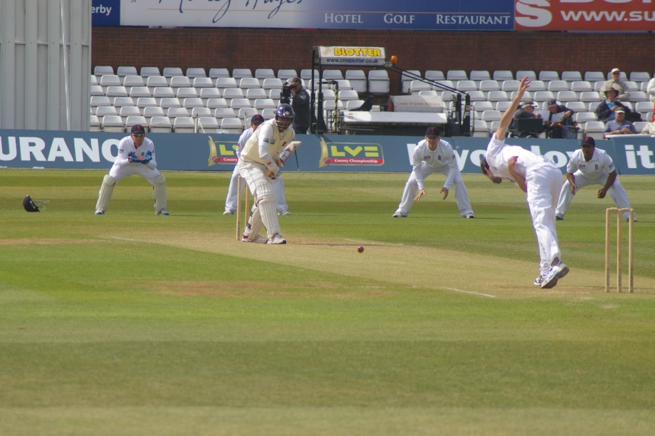 Paranavitana batting against Graham Onions