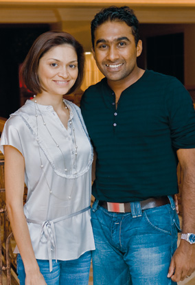 Mahela and Christina Jayawardane
