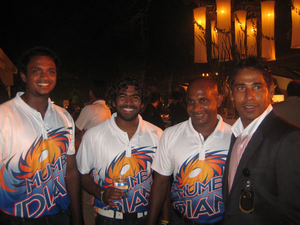 Sri Lankan IPL stars together