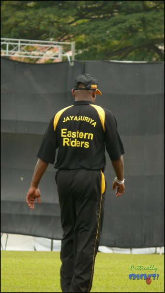 Sanath at the Olam Cup Singapore