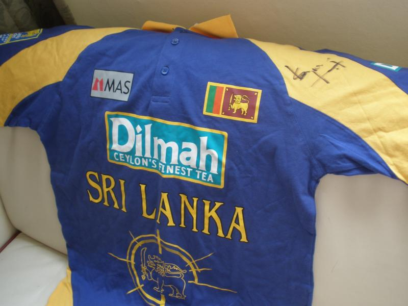 Sanath 189's Cricket shirt