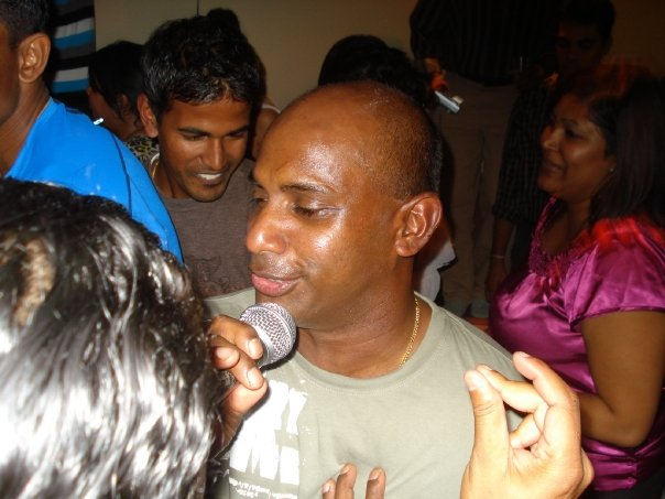 Sanath joins the party!