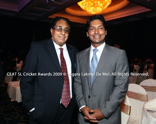 Sangakkara at CEAT Awards 2009