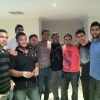 Angelo Mathews with his batch-mates in Melbourne, Australia