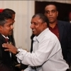 Aravinda de Silva at Rangana Herath's wedding