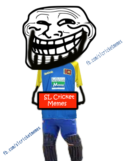SL's 1st ever cricket dedicated meme page